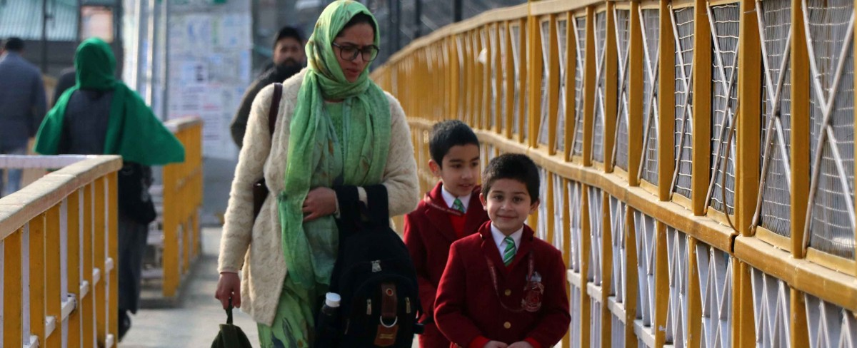 In Photos: Schools in Kashmir Reopen After Seven Months