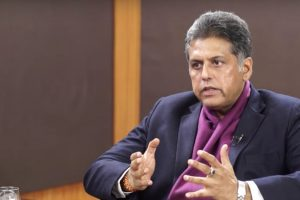 Interview: Congress Believes Sonia Gandhi Must Remain President, Says Manish Tewari