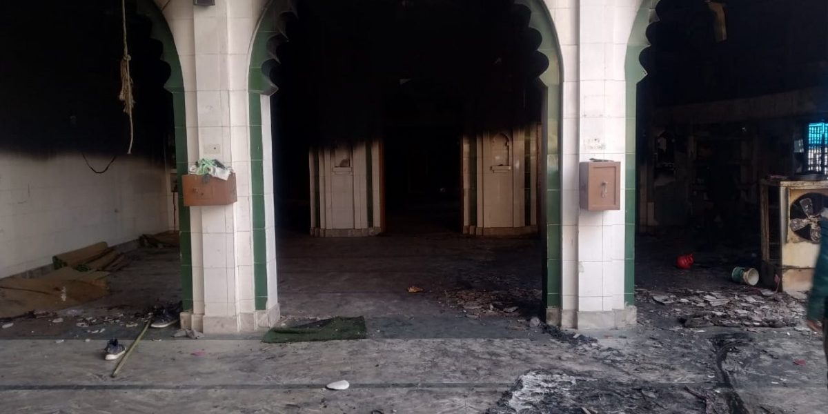 In Photos: Masjid Set on Fire in Mustafabad During Delhi Riots
