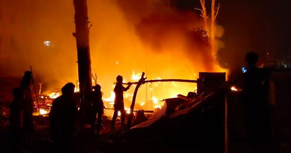 How Men Shouting 'Jai Shri Ram' Started Fires in Mustafabad's Muslim Jhuggis