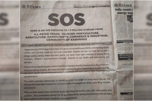 Kashmir's Business Community Sends Out SOS on 'Sea of Debt and Destruction'