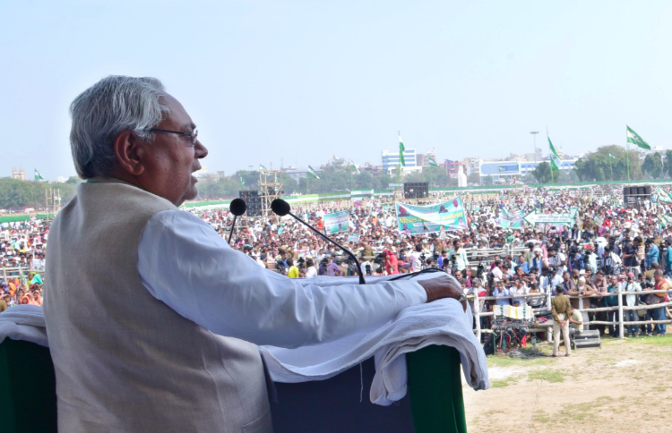 How Nitish Kumar Remained a Politician in Firm Control of His Image