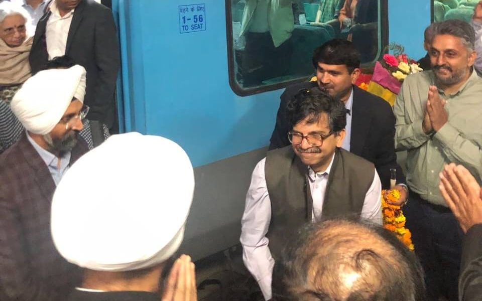 From the Station to the Streets, Justice Muralidhar Gets a Warm Welcome in Chandigarh