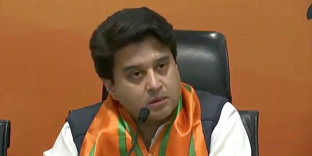 Jyotiraditya Scindia: Fresh blow to India opposition as Madhya Pradesh leader quits