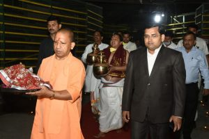 On First Day of Nationwide Lockdown, Adityanath Attends Ram Navami Event in Ayodhya