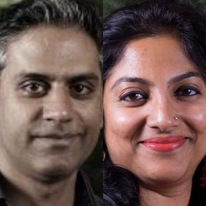 Ashwin Parulkar and Mukta Naik