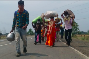 In Madhya Pradesh, Not All Migrant Labourers Walking Back Reach Home