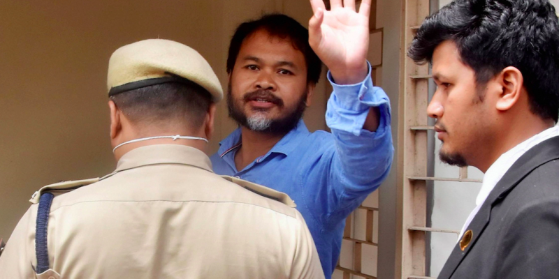 Akhil Gogoi Tests Positive for COVID-19 in Jail; 'What Tests Did They Do?' Asks Family