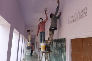 Rajasthan: As Show of Gratitude, Migrant Workers Paint School Turned Shelter