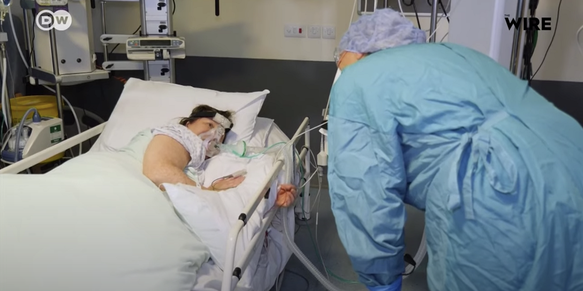 Watch | How a Device Used to Treat Sleep Apnea Is Helping COVID-19 Patients in Britain