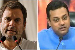 Sambit Patra Shares Clipped Video to Mock Rahul Gandhi