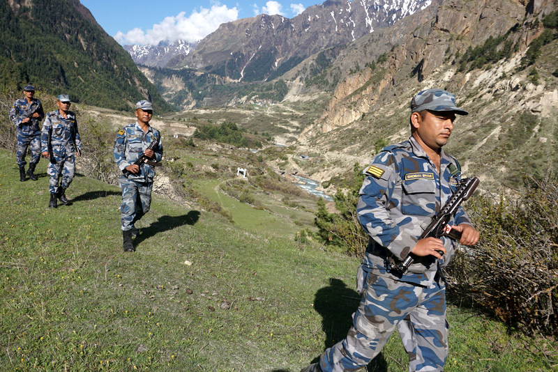 Nepal's Armed Police Force Begins Patrolling at Disputed Border Point With India