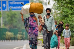 Report Finds Many Migrant Workers in Madhya Pradesh Did Not Receive Govt Benefits