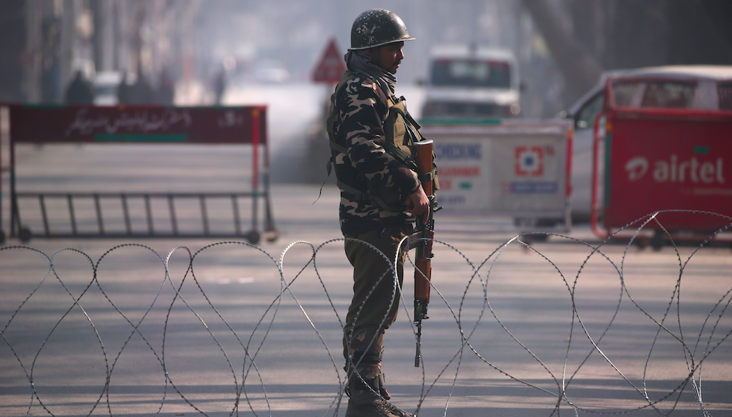 Militant killed in ongoing encounter in Srinagar