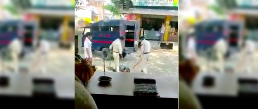 Madhya Pradesh: Video of Policemen Beating Man Goes Viral, 2 Constables Taken off Field Duty