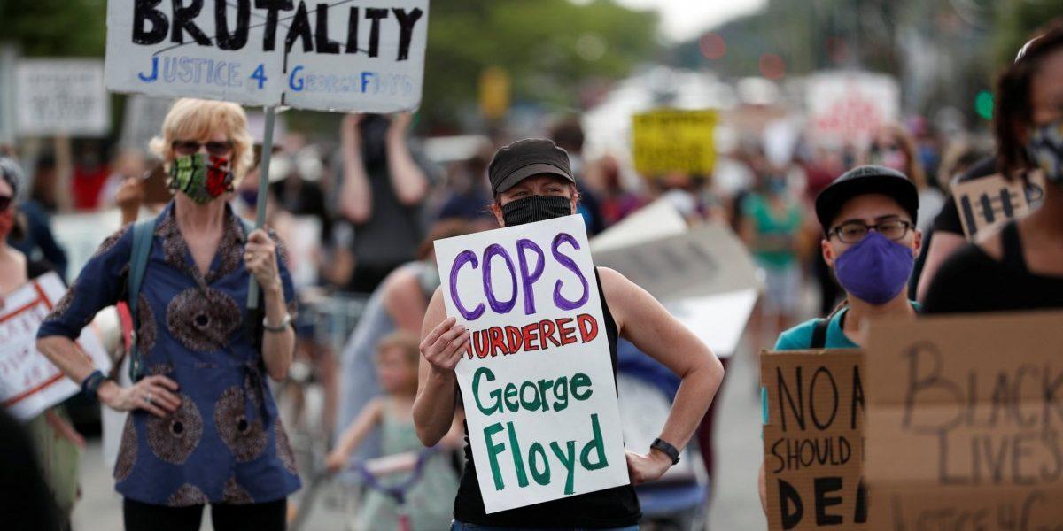 Unarmed Black Man Dies in Custody After Minneapolis Policeman Kneels on His Neck
