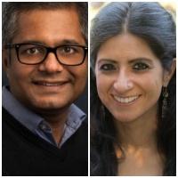 Chetan Choithani and Reshma Roshania