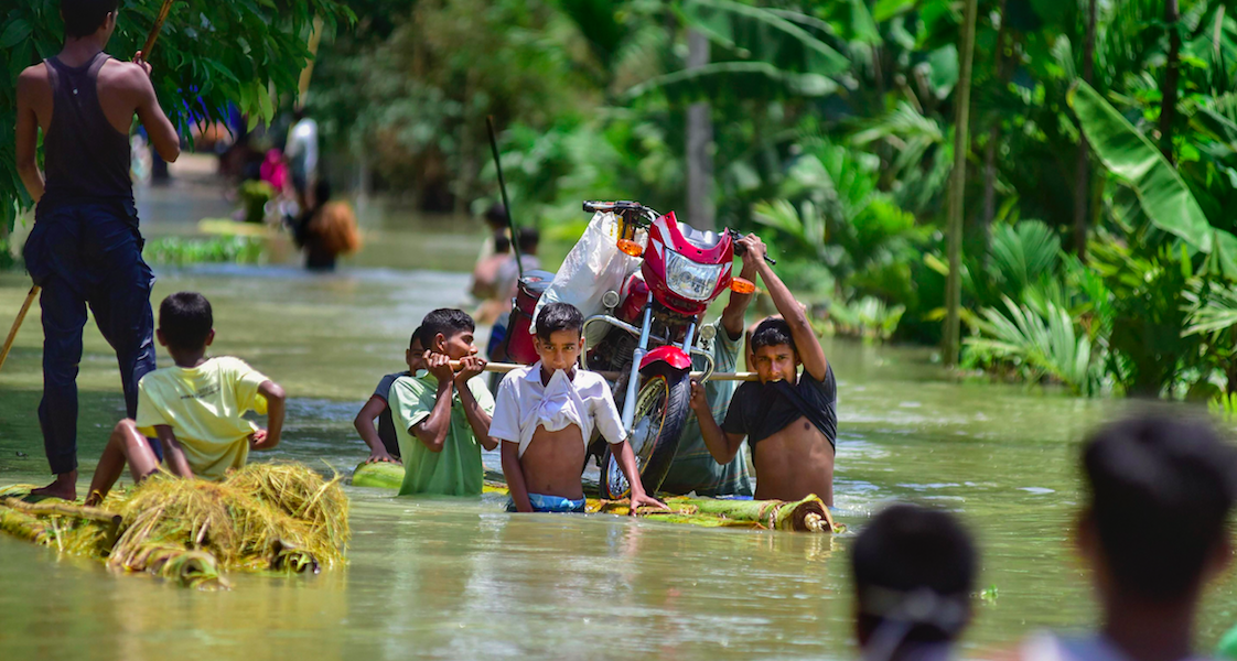Assam: 2 Die as Floods Inundate 9 Districts, Affecting Nearly 3 Lakh People