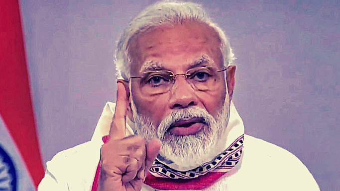 Modi Once Stoked Public Fears About Coronavirus, Now He Doesn't Know How to Dial Back