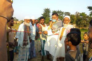 Bihar: Villagers Invite JD(U) MLA to Inaugurate Their Makeshift Bamboo Bridge