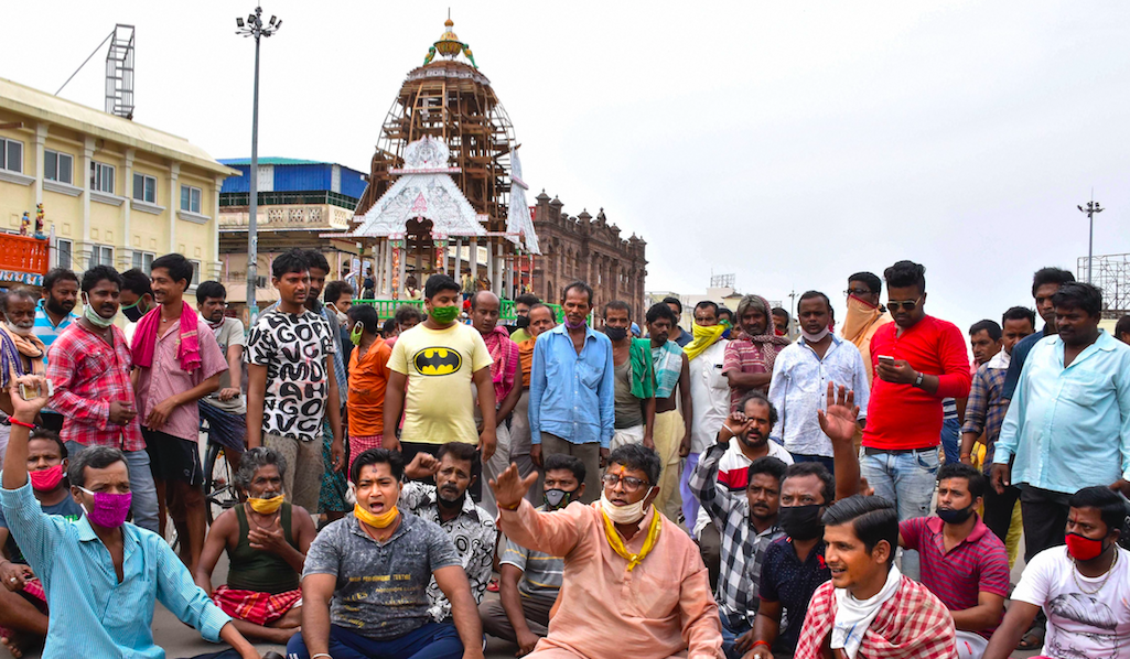 As Protests in Odisha Mark SC's Ban on Rath Yatra, Stand Taken by Centre and Odisha Under Scrutiny
