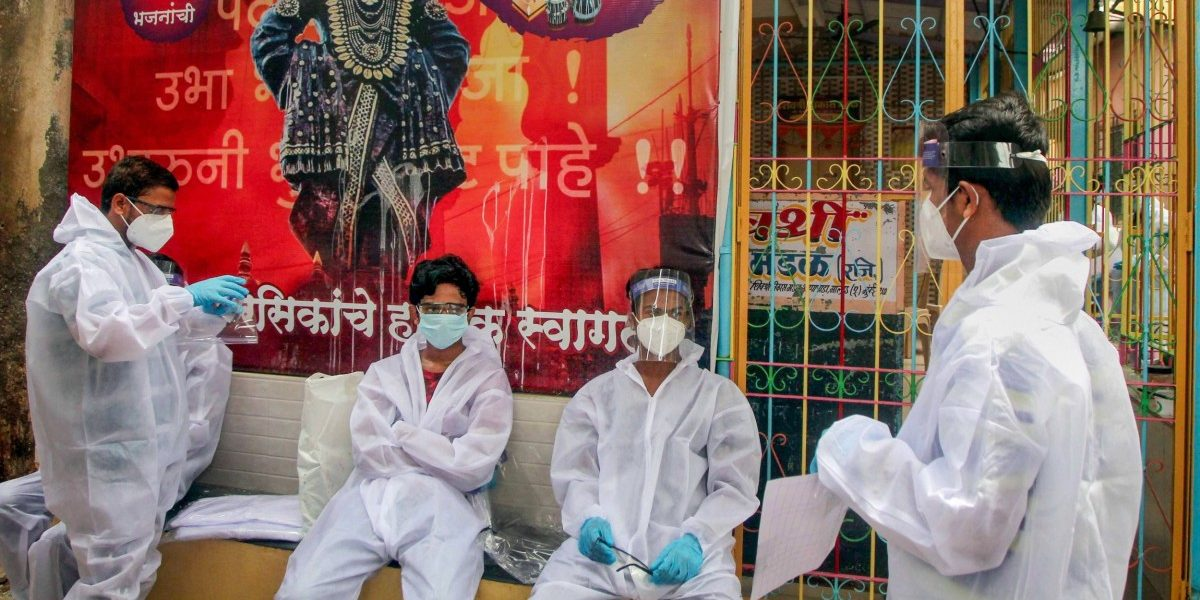 For Second Day in a Row, India Records Nearly 20k New COVID-19 Cases