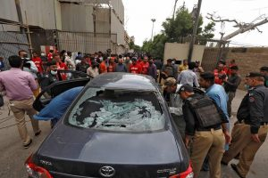 Gunmen Attack Pakistani Stock Exchange, Seven Including Four Attackers Killed