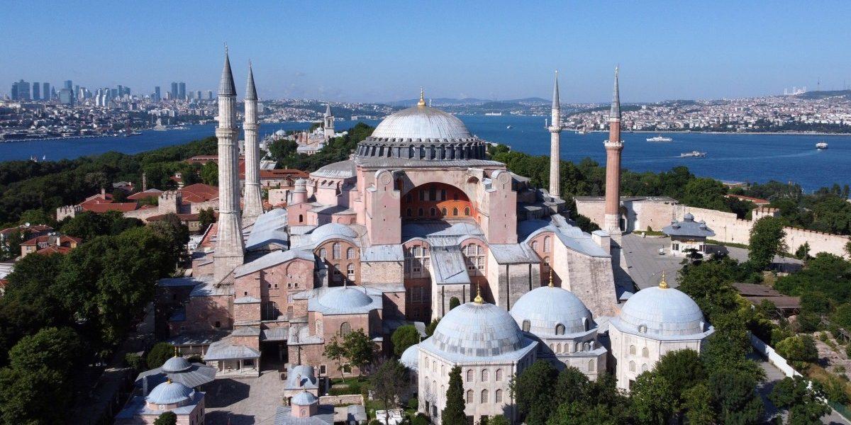 USA urges Turkey to keep Hagia Sophia as museum
