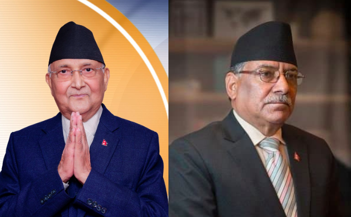 Nepal's Ruling Party Headed For a Split as Oli-Prachanda Talks Reach Deadlock
