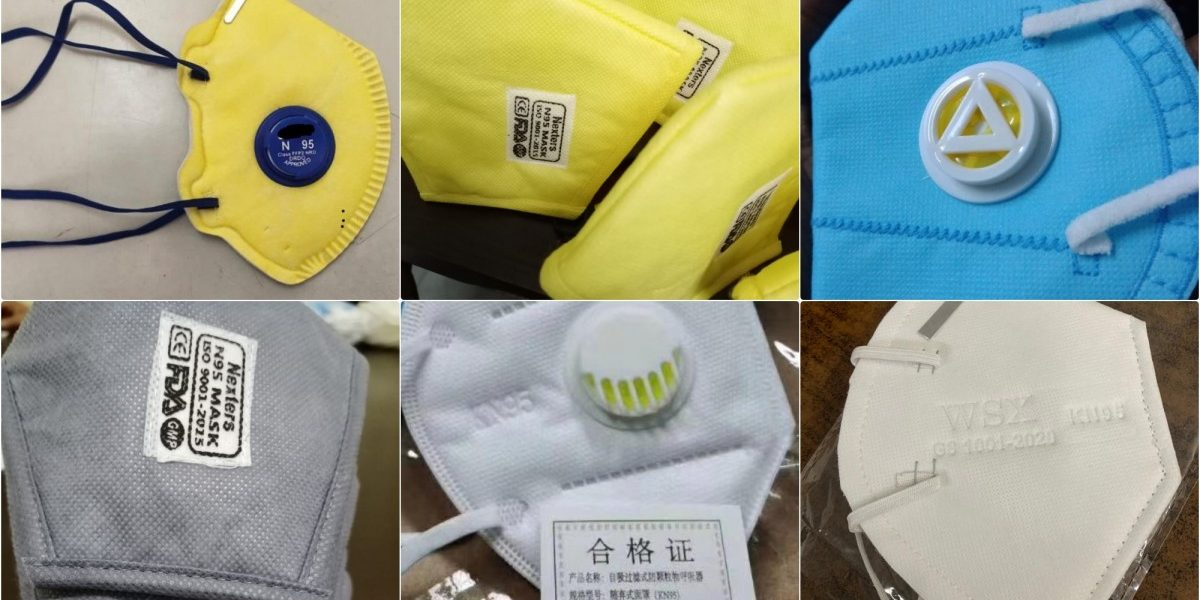 COVID-19 Investigation: The Indian Market Is Flooded with Fake N95 Masks