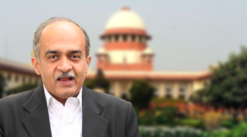Prashant Bhushan Files Writ Petition Seeking Recall of SC's Contempt Notice