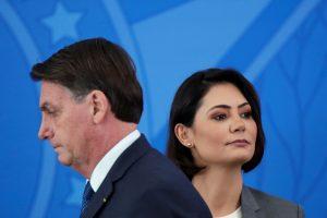 Brazil President Bolsonaro's Wife, Minister Test Positive for COVID-19