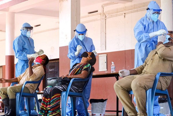 COVID-19: India Records Highest One-Day Jump of 57,118 Cases