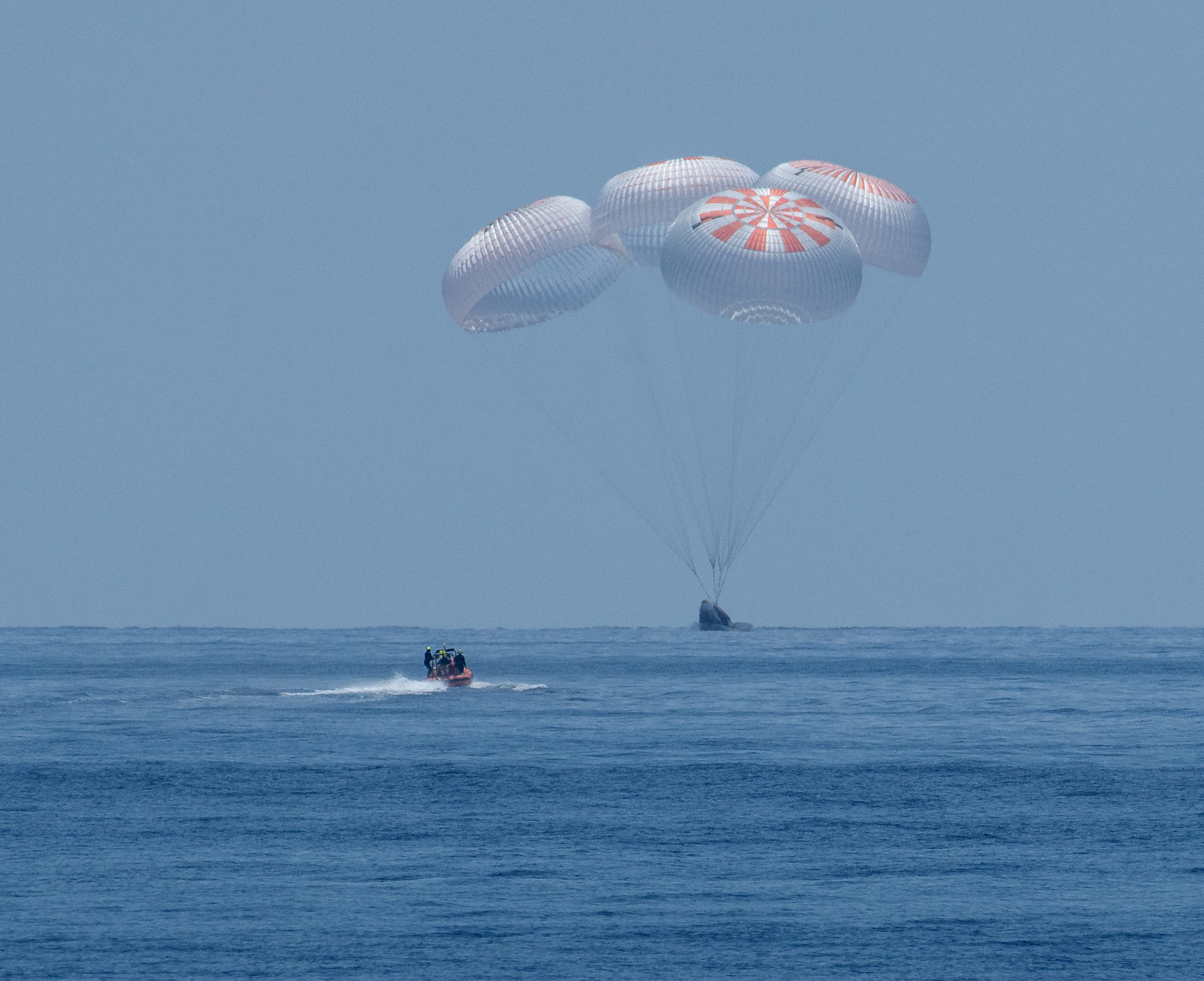 NASA Astronauts Cap Historic 'Odyssey' Aboard SpaceX Crew Dragon Capsule – The Wire Science