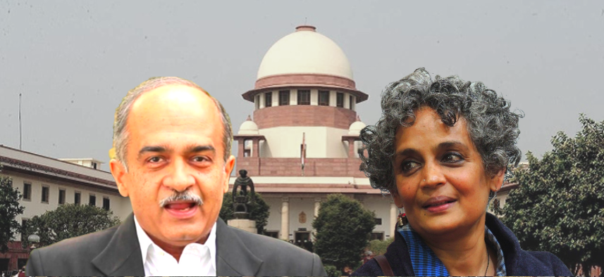 In SC's Dealings With Prashant Bhushan Over Contempt, Shades of Arundhati Roy's Case