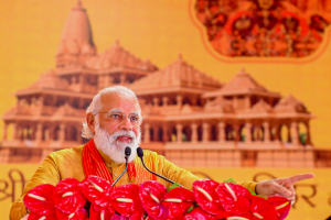 From 'Jai Shri Ram' to 'Jai Siya Ram', Modi Tempers Mandir Battle Cry, For Now at Least