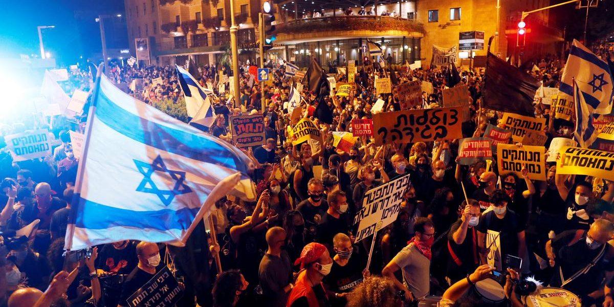 Israel Protests: Anger Mounts Over Netanyahu Govt, Pandemic Response