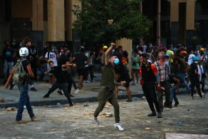 Beirut: Police Tear Gas Anti-Govt Protesters, 2 Ministers Quit Over Explosion