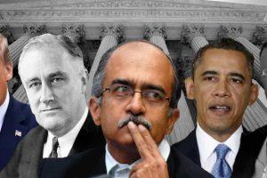 US Democracy Survives Even When POTUS Attacks SCOTUS But India Can't Handle Prashant Bhushan