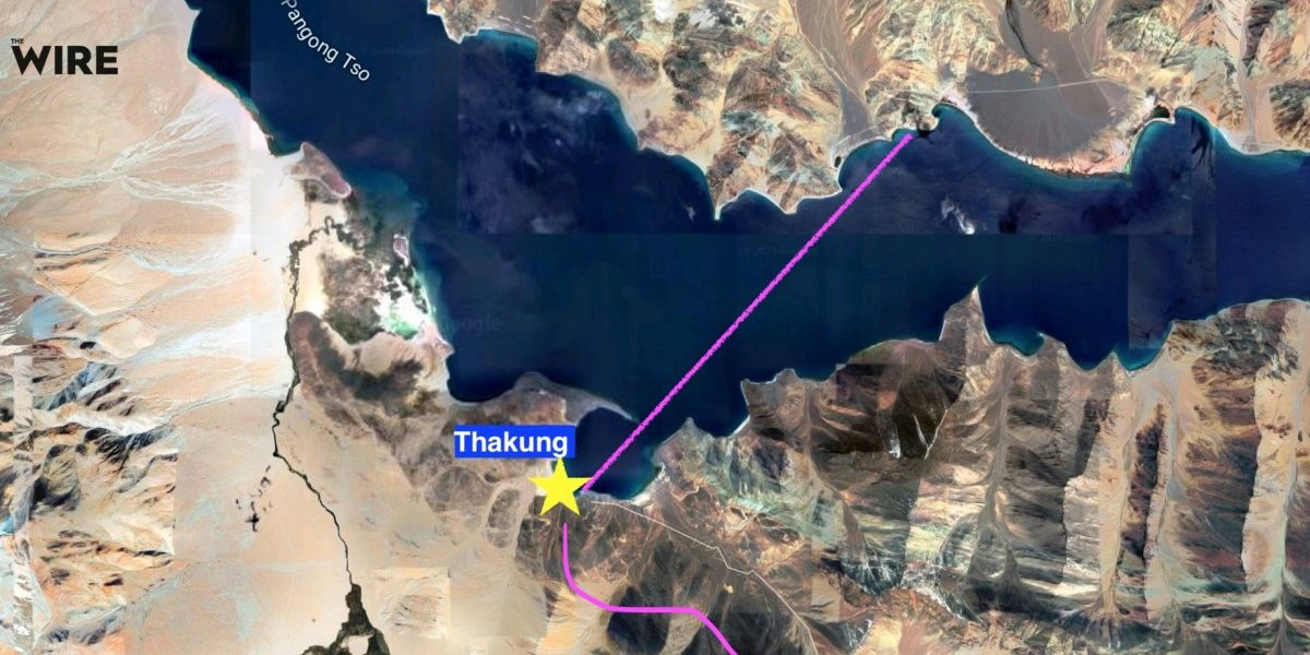 India, China in Another Stand-Off in Eastern Ladakh as PLA Intrudes Into Pangong Tso Southern Bank