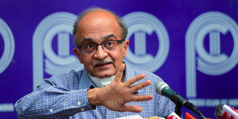 'Kejriwal Knew IAC Movement Was Propped Up by BJP-RSS,' Says Prashant Bhushan