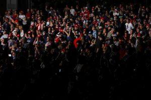 Donald Trump Holds Campaign Rally Indoors Despite Coronavirus Concerns