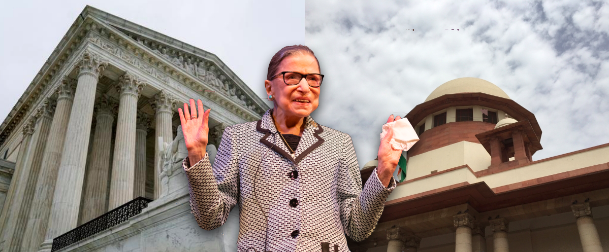 A Tribute to Judge Ruth Bader Ginsburg, But When Will India Have Its Own RBGs?