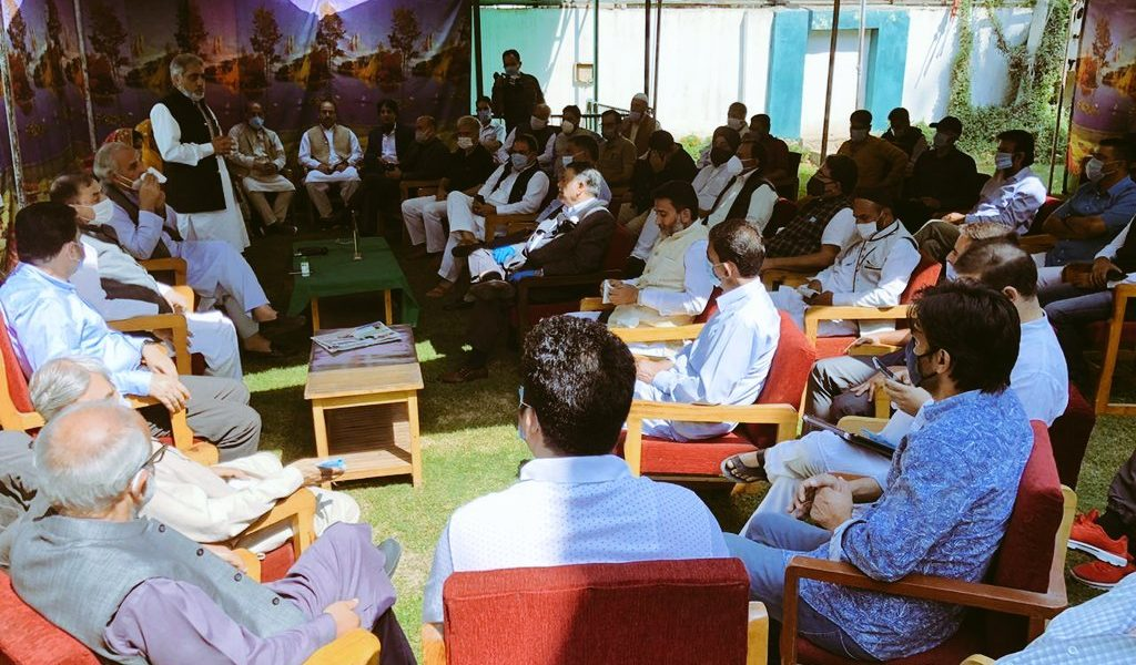 Senior PDP Leaders Meet for First Time After Revocation of J&K's Special Status