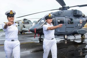 In a First, 2 Women Officers Selected as Airborne Tacticians in Navy's Helicopter Stream