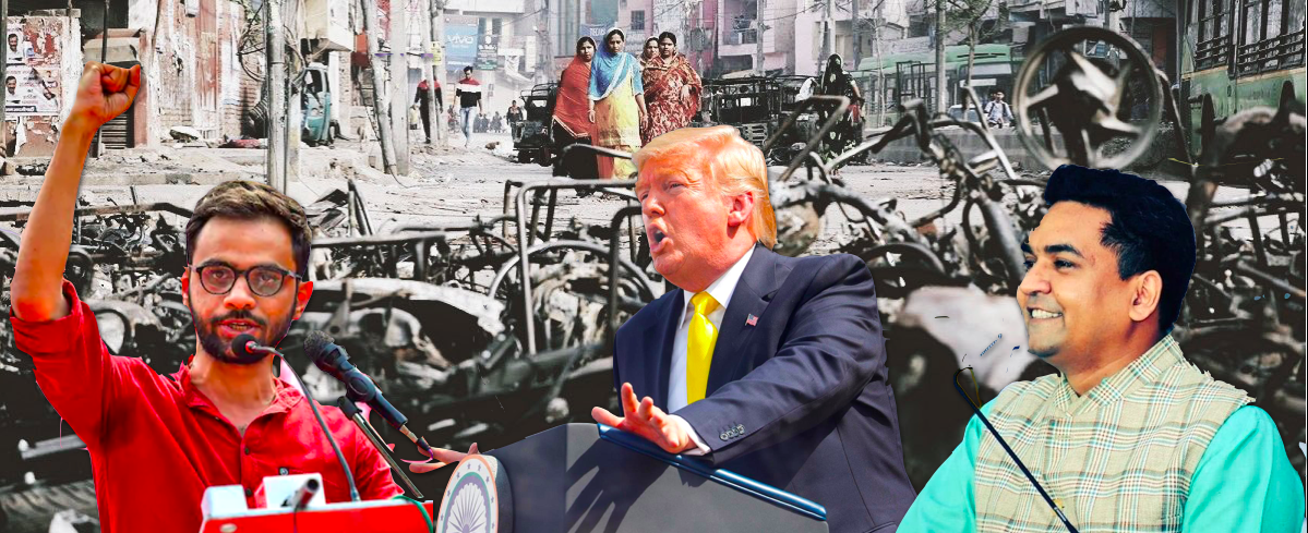 After Delhi Police Gaffe on Trump Chronology, Riots Chargesheet Takes U-Turn on Conspiracy Date