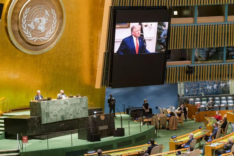 At UN General Assembly, Donald Trump Accuses Beijing of Unleashing 'Plague'