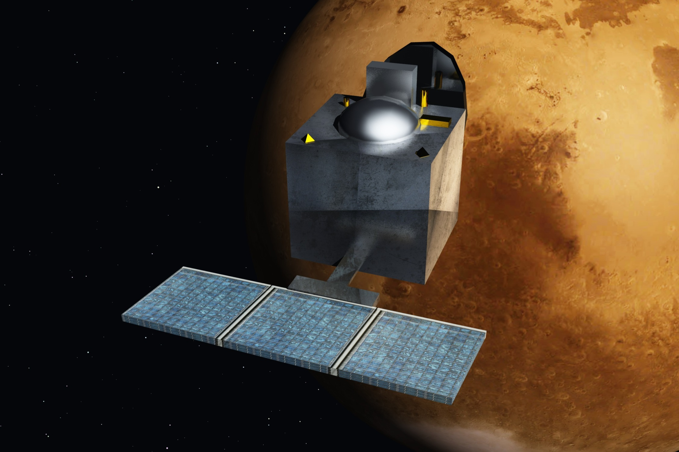 ISRO's Mangalyaan Orbiter Completes Six Years Around Mars. Where's the Science? – The Wire Science