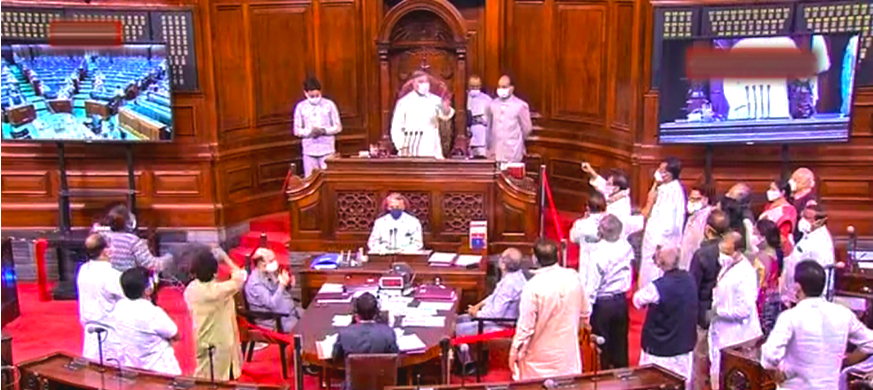 RSTV Footage, MPs' Accounts of Farm Bills Debate Paint Picture of RS Rules Violation
