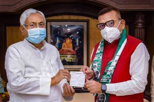 True to Speculation, Former Bihar Top Cop Gupteshwar Pandey Joins JD(U)